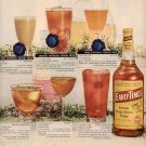 1957 EARLY TIMES KENTUCKY BOURBON WHISKEY MAGAZINE AD (231)