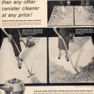 1957 WESTINGHOUSE SPEED CLEANER VACCUM MAGAZINE AD (232)