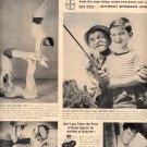1957 BAYER ASPIRIN MAGAZINE AD (235)