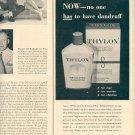 1957 THYLOX MEDICATED SHAMPOO MAGAZINE AD (248)