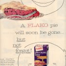 1959 FLAKO PIE CRUST MIX MAGAZINE AD (281)