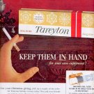 1959 TAREYTON CIGARETTES MAGAZINE AD (284)