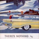 1959 GENERAL MOTORS OLDSMOBILE DOUBLE PAGE MAGAZINE AD (288)
