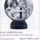1959 NEW YORK LIFE INSURANCE COMPANY MAGAZINE AD (304)