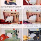 1959 SINGER SEWING CENTERS MAGAZINE AD (306)