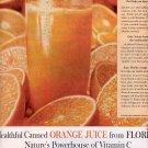 1959 FLORIDA ORANGE JUICE MAGAZINE AD (315)