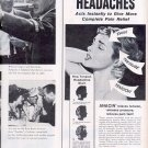 1959 ANACIN HEADACHES PAIN RELIEF MAGAZINE AD (325)