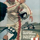1972 VICEROY CIGARETTES AND INDY CAR RACING MAGAZINE AD (327)