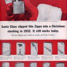 1963 ZIPPO LIGHTERS FOR CHRISTMAS MAGAZINE AD (328)