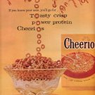 1959 GENERAL MILLS CHEERIOS MAGAZINE AD (335)