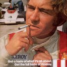 1972 VICEROY CIGARETTES AND INDY RACING MAGAZINE AD (343)