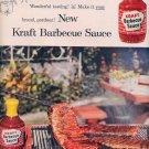 1959 KRAFT BBQ BARBECUE SAUCE MAGAZINE AD (345)