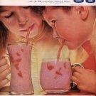 1959 QUAKER OATS - BREAKFAST IN A GLASS MAGAZINE AD (346)