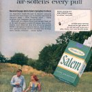 1959 SALEM CIGARETTES MAGAZINE AD (352)