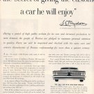 1959 GENERAL MOTORS PONTIAC AMERICA&#39;S NUMBER 1 ROAD CAR MAGAZINE AD (369)