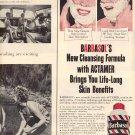 1959 BARBASOL PRESTO LATHER SHAVE CREAM MAGAZINE AD (372)