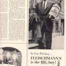 1959 FLEISCHMANN'S BLENDED WHISKEY MAGAZINE AD (383)