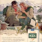 1959 KOOL FILTER CIGARETTES MAGAZINE AD (384)