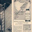 1959 NOXEMA INSTANT SHAVING LATHER MAGAZINE AD (389)