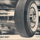 1959 FIRESTONE TIRE AND RUBBER COMPANY MAGAZINE AD (392)
