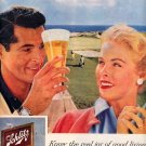 1959 SCHLITZ BEER - NATIONAL TAVERN MONTH MAY 1959 MAGAZINE AD (411)