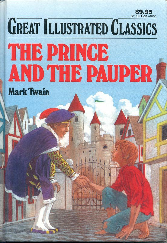 an analysis of the prince and the pauper novel by mark twain Acting as a social commentary as the prince and pauper switch places twain had started adventures of huckleberry finn the jumping frogs series of books brings neglected mark twain treasures—stories, tall tales, novels, travelogues, plays, imaginative journalism, speeches.