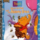 WINNIE THE POOH AND THE HONEY TREE  A LITTLE GOLDEN BOOK 1997 CHILDREN'S HARDBACK BOOK VERY GOOD
