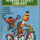 THE SESAME STREET LIBRARY VOLUME 2 FOR LETTERS C & D 1978 CHILDREN'S HARDBACK BOOK NEAR MINT