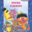 SESAME STREET SPRING CLEANING 1992 CHILDREN'S HARDBACK BOOK NEAR MINT