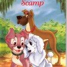 DISNEY'S  OUR HERO SCAMP 1ST PRINTING 2004 CHILDREN'S HARDBACK BOOK NEAR MINT