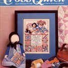 CROSS QUICK CROSS STITCH BACK ISSUE CRAFTS MAGAZINE FEBRUARY - MARCH 1989 NEAR MINT #2