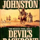 DEVIL'S BACKBONE BOOK FIVE 1991 by TERRY C. JOHNSTON WESTERN PAPERBACK BOOK VERY GOOD COND