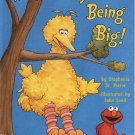 IT'S NOT EASY BEING BIG BY STEPHANIE ST. PIERRE 1998 CHILDREN'S HARDBACK BOOK NEAR MINT