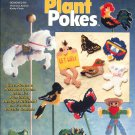 THE NEEDLECRAFT SHOP - PLANT POKES 1994 PLASTIC CANVAS CRAFT BOOKLET NOS NEAR MINT