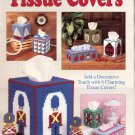 THE NEEDLECRAFT SHOP - TISSUE COVERS 1989 PLASTIC CANVAS CRAFT BOOK MINT