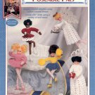 FIBRE CRAFT POSEABLE PALS CROCHET DOLL PATTERN CRAFT BOOKLET NEAR MINT
