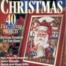 CROSS STITCH CHRISTMAS BETTER HOMES & GARDEN BACK ISSUE CRAFTS MAGAZINE DECEMBER 1994 MINT NOS