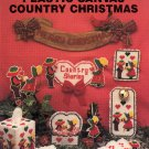 NEEDLECRAFT ALA MODE COUNTRY CHRISTMAS PLASTIC CANVAS CRAFT LEAFLET 1990 NEAR MINT
