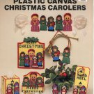 NEEDLECRAFT ALA MODE CHRISTMAS CAROLERS PLASTIC CANVAS CRAFT LEAFLET 1990 NEAR MINT