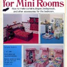 MINI DRESSINGS FOR MINI ROOMS CRAFT BOOKLET NEAR MINT