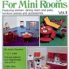 MINI DRESSINGS FOR MINI ROOMS VOL II CRAFT BOOKLET NEAR MINT