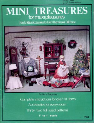MINI TREASURES FOR MAXI PLEASURES CRAFT BOOKLET NEAR MINT