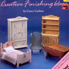 SMALL PLEASURES DOLLHOUSES BY CASEY CARLTON CRAFT BOOKLET 1990 NEAR MINT