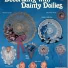 DECORATING WITH DAINTY DOILIES CRAFTS LEAFLET 1985 NEAR MINT