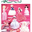 DRESS A DOLL WITH RIBBONS CRAFTS BOOKLET 1983 MINT