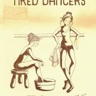 TIRED DANCERS by OFF THE WALL DESIGNS CROSS STITCH CRAFT LEAFLET 1981 NEAR MINT