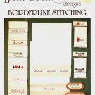 LUCKY DUCK DESIGNS - BORDERLINE STITCHING CROSS STITCH CRAFT LEAFLET NEAR MINT
