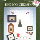 LUCKY DUCK DESIGNS - TIME FOR CHRISTMAS CROSS STITCH CRAFT LEAFLET # 32 NEAR MINT