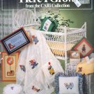 HERE I GROW BY CARI COLLECTION BABY CROSS STITCH CRAFT BOOKLET 1982 GOOD COND