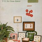 DAYS WE CELEBRATE BY PAM SULLIVAN CROSS STITCH CRAFT BOOKLET 1978 VERY GOOD COND